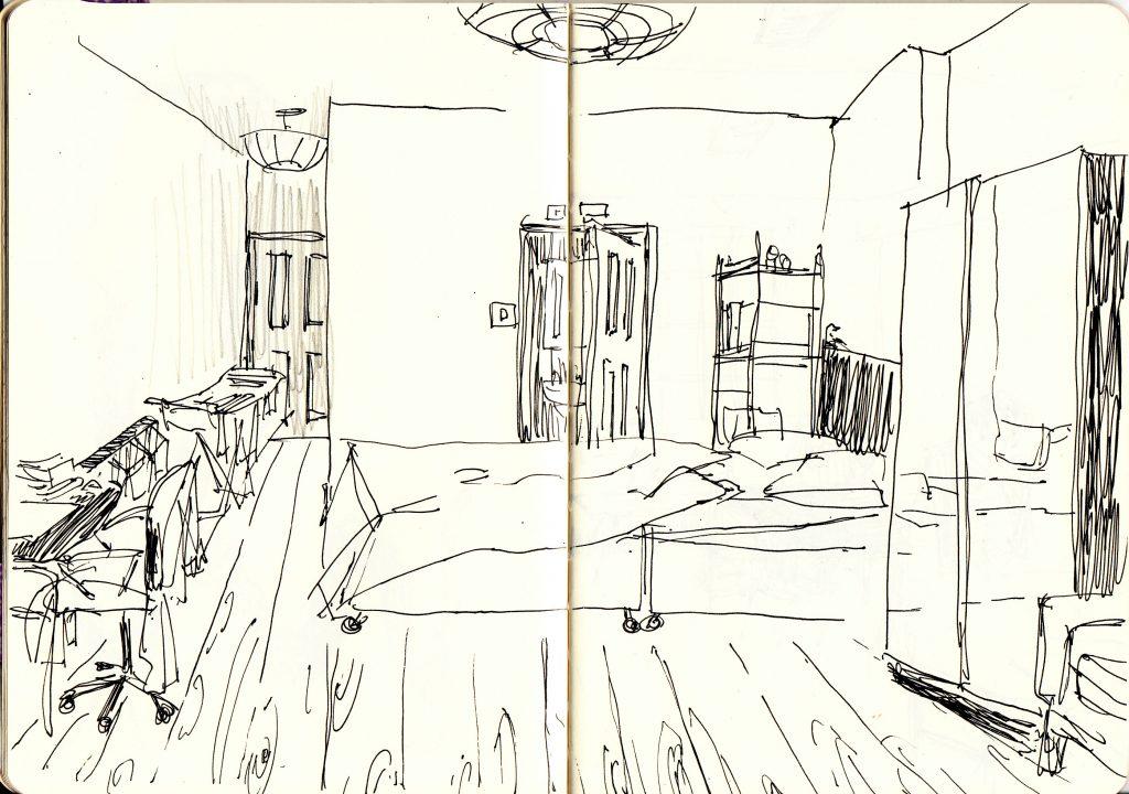 My room drawing
