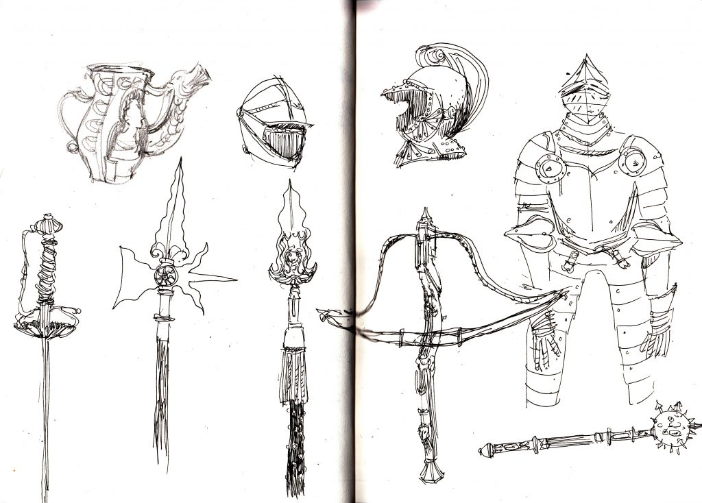 Wallace Collection Sketches