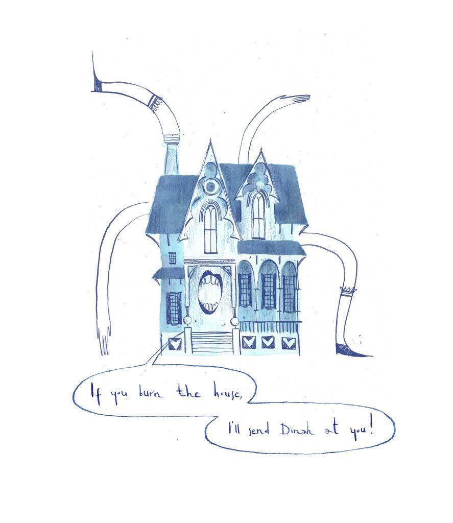 Alice in Wonderland house