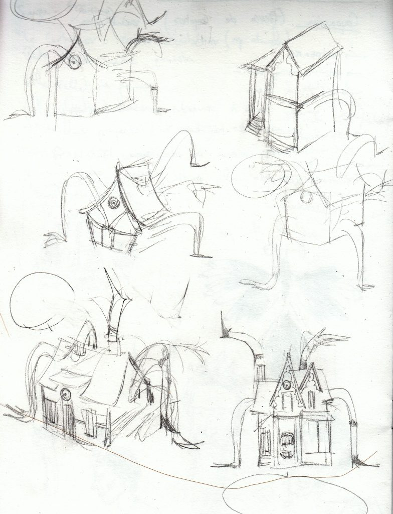 Alice in Wonderland sketches 2