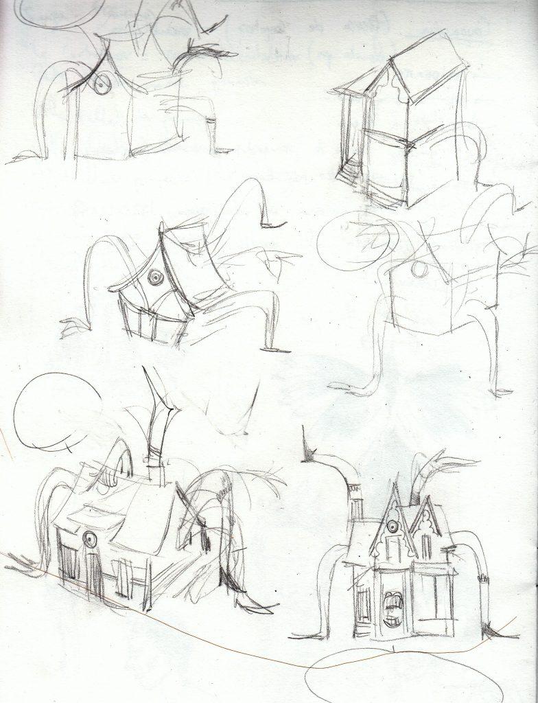 Alice in Wonderland sketches 2