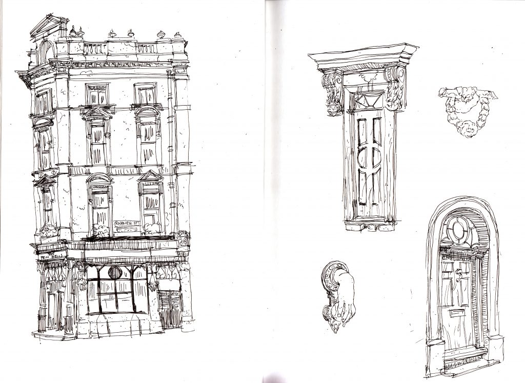 Spitalfields sketch ten bells