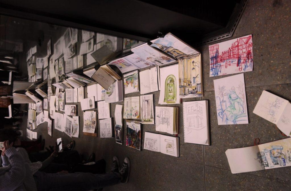 London urban sketchers shoreditch spitalfields
