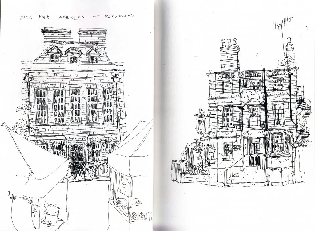 Urban Sketchers London Richmond